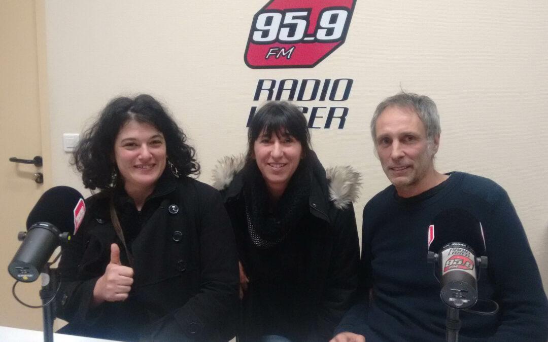 Interview sur Radio Laser