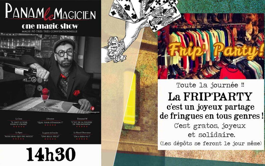 Magicien, Friperie et Manège au programme de cette édition Estivale Baranoux du 2 août !
